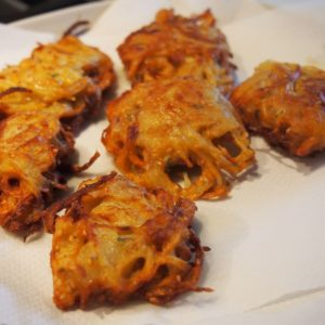 Oignons Pakora